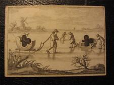 C1809 Rare COTTA Transformation Lithographic Playing Card