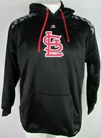 St. Louis Cardinals MLB Majestic Big & Tall Men's ThermaBase Pullover Hoodie