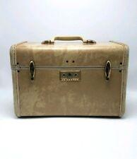 Vintage Ivory SAMSONITE LUGGAGE SHWAYDER Travel Train Streamlite Makeup case
