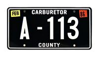 Cars | Pixar | Tow Mater's |  A-113 | Metal Stamped Replica Prop License Plate