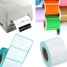 Thermal Label Sticker Print Tag Price Sheet Color Paper Blank High Adhesion Lot