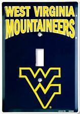 West Virginia Mountaineers Aluminum Novelty Single Light Switch Cover