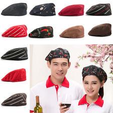 Fashion Men Women Chef Hat Kitchen Food Service Restaurant Cooking Beret Hat