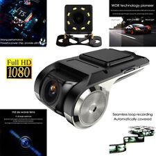 Car Dual Lens Camera 1080p Night Vision G-Sensor Camera Dash Cam Front & Rear