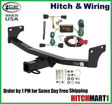 "FITS 2008-2010 JEEP PATRIOT CLASS 3 CURT TRAILER HITCH & WIRING 2"" TOW RECEIVER"