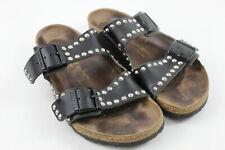BIRKENSTOCK Black Sandals size Eu 41