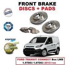 DISQUES DE FREIN AVANT + coussinets pour Ford Transit Connect boite LWB 1.5TDCI