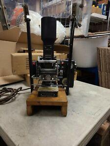 Kingsley Stamping Embossing Machine (Model: AM-100-W)