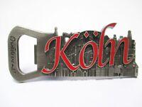 Köln Cologne Dom Metall Flaschenöffner Magnet Souvenir Germany (165 )