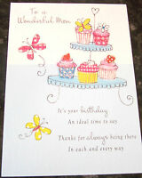 Wonderful Mum Birthday Card by Just Write Cards. 53 available - Multi Listing.