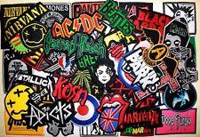 Wholesale lot 50 Hard Rock Punk Music Concert Clothing Applique Iron on patch #9