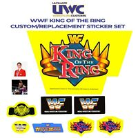 WWF Hasbro Ring King of The Ring Custom/Replacement Sticker Set