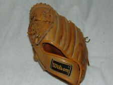 """Wilson A2277 Baseball Glove Grip-tite Pocket LHT All Leather 11"""" Snap Action"""