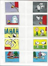 I Love Snoopy Panini Stickers Lot of 35/Panini Stickers/Charles Schulz/Woodstock