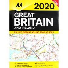 AA 2020 Road Atlas Map Great Britain & Ireland UK Brand New Latest Edition