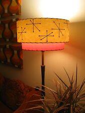 Mid Century Vintage Style 2 Tier Fiberglass Lamp Shade Modern Starburst Retro IT
