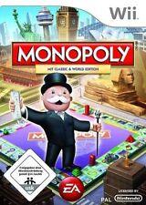 Monopoly (Nintendo Wii, 2008) UK PAL