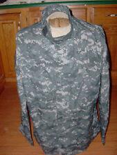 U.S MILITARY ACU DIGITAL ALL TERRAIN CAMOUFLAGE BDU SHIRT MEDIUM LONG
