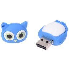 8 Go USB 2.0 Memoire stylo cle lecteur Flash en forme de Hibou Cle Bleu Y8C5