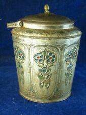 35930 Old Antique Tin ancien moule à biscuits Bonbons Art Noveau