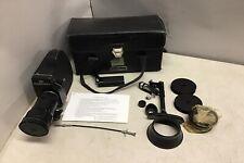 Zenit Krasnogorsk-3 Ussr 16mm Film Camera w/Case and Lot of Accessories