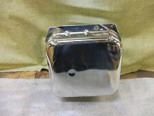 Vintage Custom Chopper Bobber Chrome Oil Tank Resevoir PL116 +