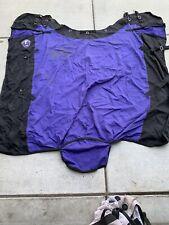 "JT Tough-1 78"" Lightweight Poly Turnout Horse Blanket Purple Includes Leg Straps"