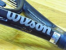 EXCELLENT Wilson Hyper Hammer 2.3 Super Oversize Racquet NEW STRINGS Racket