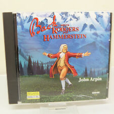 MUSIC CD:  BACK MEETS RODGERS & HAMMERSTEIN, JOHN ARPIN