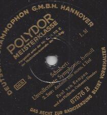 Paul van Kempen Philharmonie Dresden : Unvollendete h-moll von Schubert