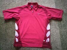 Nike vintage polo tennis shirt Roger Federer size L 2003 French Open RF