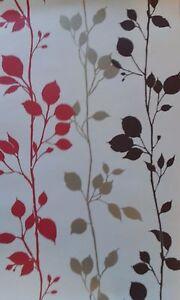 Luxury Moda Black Label Springtime Red on Cream Wallpaper - Pattern 9901 Batch B