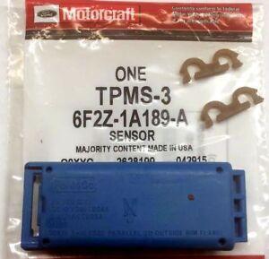 NEW REMOTE TIRE PRESSURE SENSOR-MOTORCRAFT # TPMS-3  FORD # 6F2Z-1A189-A