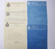 1932 Lamson Goodnow BLUEPRINTS Worcester MA Pressed Steel Co Ephemera P052L