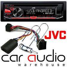 JVC CD MP3 USB AUX Citroen Berlingo Car Stereo & Steering Wheel Interface Kit