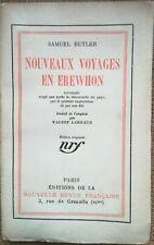 EXPLORATION: Nouveaux Voyages en Erewhon, par Samuel BUTLER, E.O. - 7344