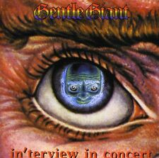 In'Terview In Concert - Gentle Giant (2012, CD NEUF)