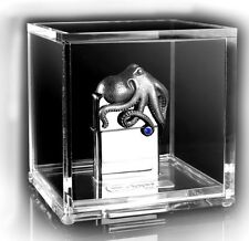 """ZIPPO LIMITED """"OCTOPUS 3D FIGURE"""" LIGHTER * NEW in ACRYLIC PRESENTATION BOX *"""