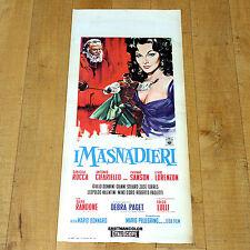 I MASNADIERI locandina poster Folco Lulli Daniela Rocca Cifariello Bonnard A10