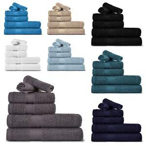 ZIMEL HOMES® LUXURY 100% RINGSPUN COTTON 6 PIECES TOWEL BALE SET BATHROOM TOWELS