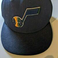 Utah Jazz New Era NBA 59Fifty Fitted Hat Baseball Cap Basketball Sz 6 3/4 53.9cm