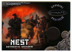 Breygent 2013 Transformers Optimum TC2 NEST Uniform Relic Card - Chapman