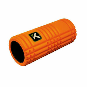 """Trigger Point Therapy The Grid Foam Roller Orange 13"""" x 5.5"""" Fitness Massage Gym"""