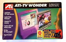 Anti-TV Wonder The PCI-based TV Tuner and Video Capture Card