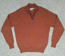 Peter Millar 100% Extrafine Italian Merino Wool 1/4 Zip Sweater Small