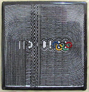 1968 SUMMER OLYMPICS XIX Mexico City OLYMPIC GAMES PATCH ONLY ~ Willabee & Ward