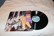 Heavy D & the Boyz Gold Stamp Promo LP with Company Sticker-BIG TYME