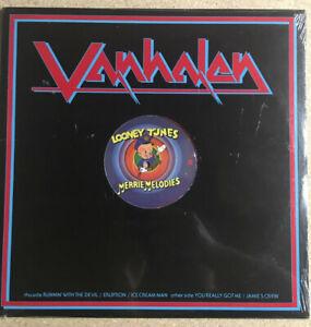 """VAN HALEN Looney Tunes Merrie Melodies Red Vinyl Promo 12"""" PRO 705 RARE LP"""