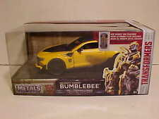 TRANSFORMERS THE LAST KNIGHT 2016 Chevy Camaro Bumble Bee 1/24 Jada Toys 8 inch