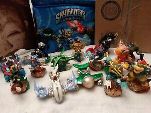 Skylanders Lot Some Are Prototypes And Carrying Bag These Are New PS XBOX Wii